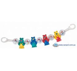 Погремушка на коляску Клоуны - 2/169, Canpol Babies