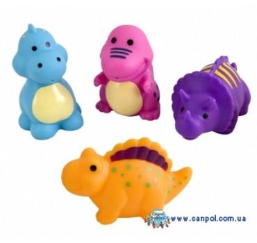Игрушки для купания Динозавры 4 шт. - 2/995