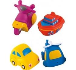 Игрушки для купания Авто 4 шт. - 2/996, Canpol Babies