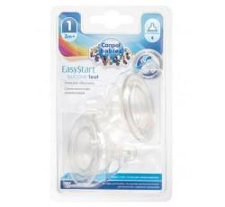 Соска силиконовая медленная для бутылочек с широким горлышком Easystart, 2шт - 21/730