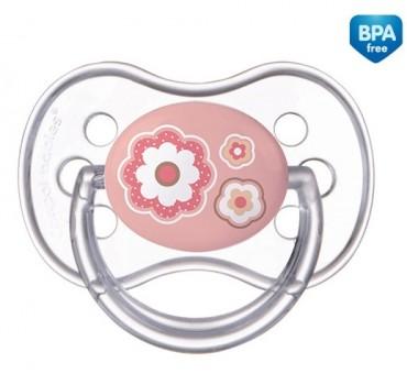 Пустышка силиконовая круглая 18м+ Newborn baby - 22/564
