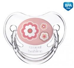 Пустышка силиконовая анатомическая 6-18 месяцев Newborn baby - 22/566