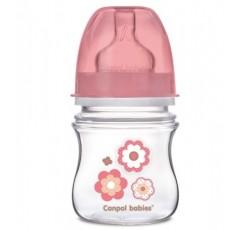 Бутылочка с широким горлышком антиколиковая Newborn baby 120 мл, EasyStart - 35/216