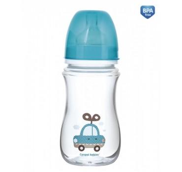 Бутылочка EasyStart 240 мл с широким горлышком - 35/221_blu, Toys