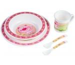 Набор посуды Smile, розовый - 4/401/1, Canpol Babies