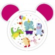 Тарелки пластиковые с ушками - 4/415, Canpol Babies