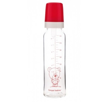 Бутылочка для кормления стеклянная 240 мл - 42/101, Canpol Babies