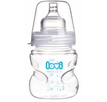 Бутылочка LOVI Medical+(150 мл) с динамической соской - 59/201