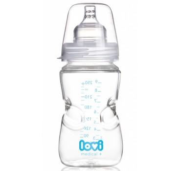 Бутылочка LOVI Medical+(250 мл) с динамической соской - 59/202