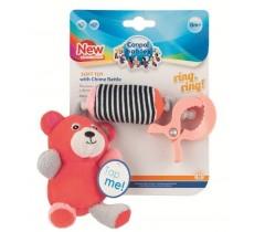 Игрушка плюшевая с колокольчиком Bears - 68/054_cor