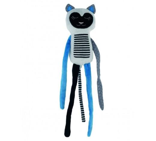 Плюшевая игрушка Спящий Лемур, Jungle - 68/059_blu