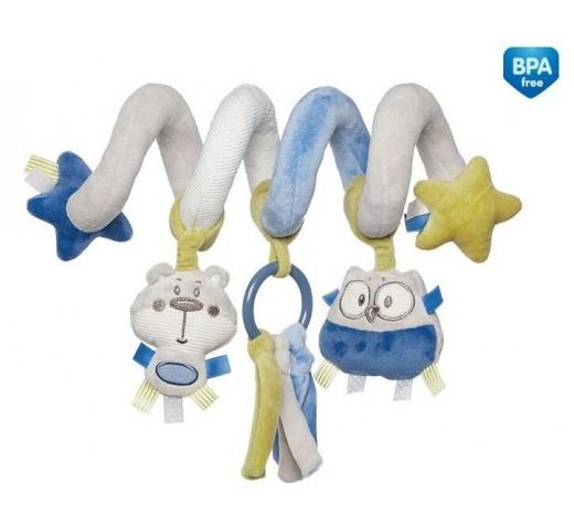 Мягкая спираль на краватку Pastel Friends - 68/064_grey
