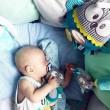 Плюшевая развивающая игрушка на кроватку Pastel Friends - 68/065_tur