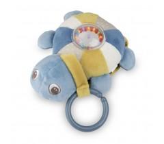 Музыкальная плюшевая игрушка Черепашка- 68/070_blu
