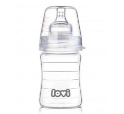 Бутылочка стеклянная Diamond glass150 мл - 74/100, LOVI